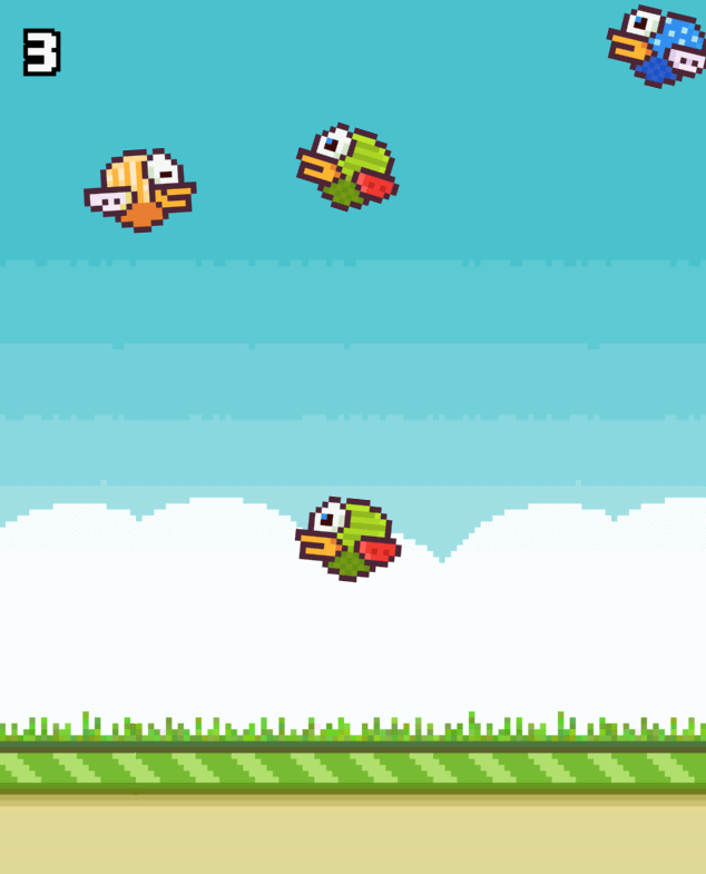 The Flappies #FlappyJam Game